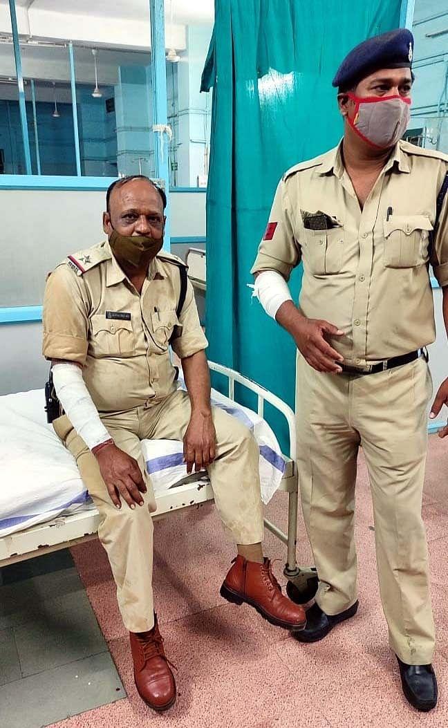 Injured cops