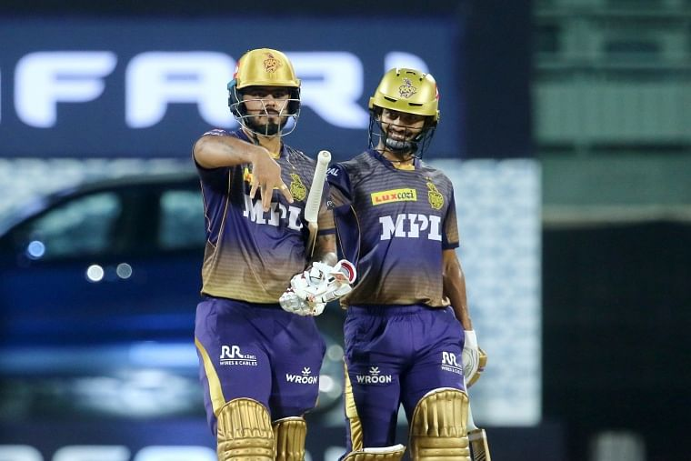 IPL 2021: Twitter hail Nitish Rana, Rahul Tripathi; duo's half-centuries propel KKR to 187 for 6