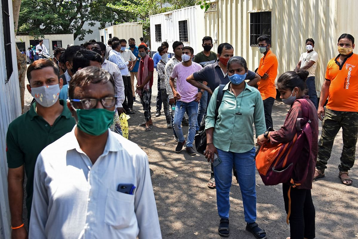 With 63,729 new COVID-19 cases, Maharashtra records highest single-day surge since pandemic outbreak