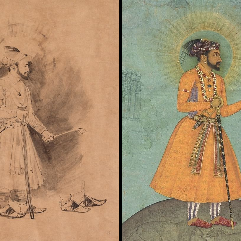 When Rembrandt drew the colourful splendour out of Mughal Paintings. He went Dutch on Shahjahan