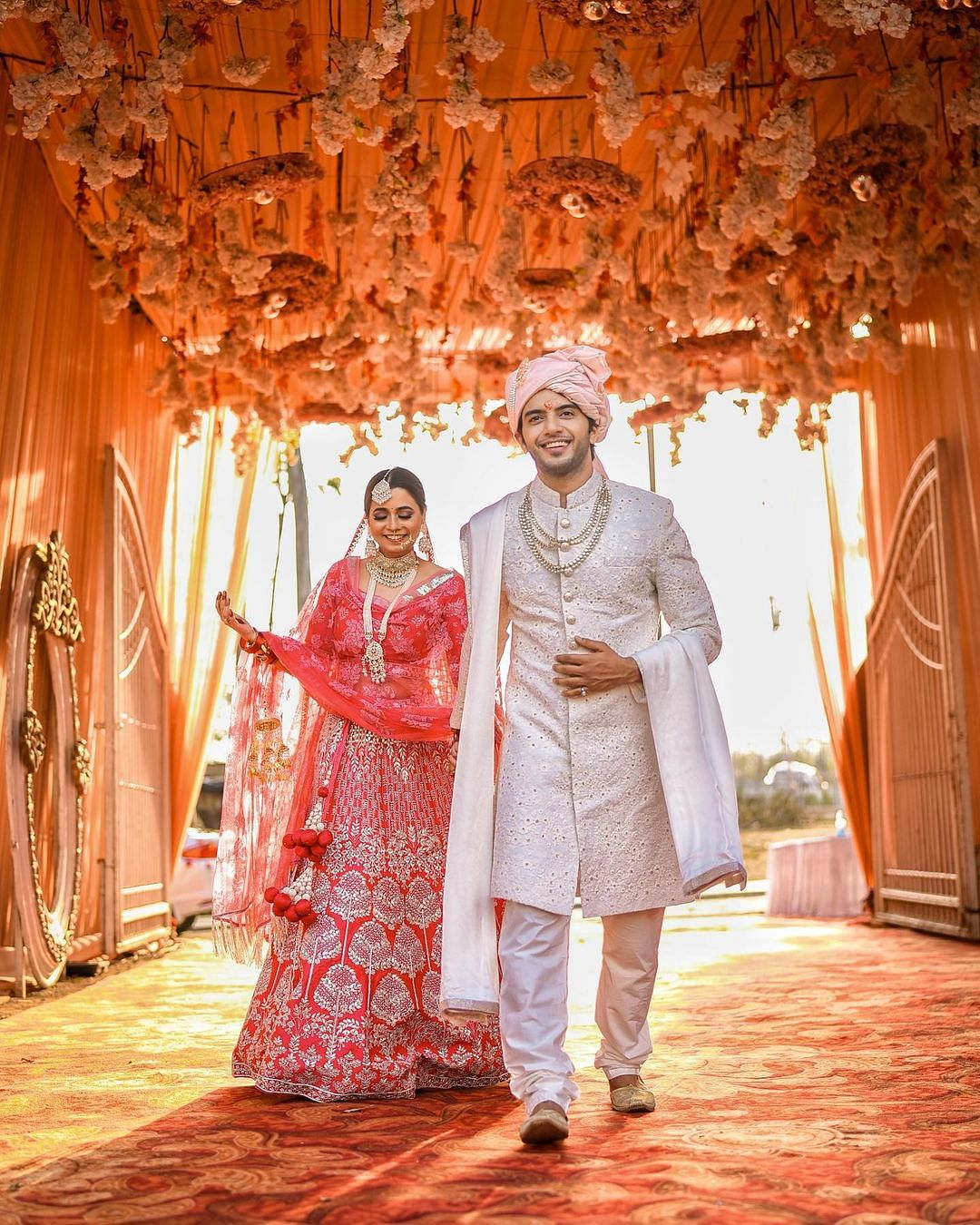 TV actor Vikram Singh Chauhan ties the knot with girlfriend Sneha Shkukla