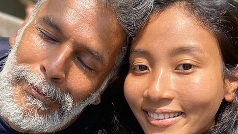 'In sickness and in health': Milind Soman reunites with wife Ankita Konwar after testing COVID-19 negative