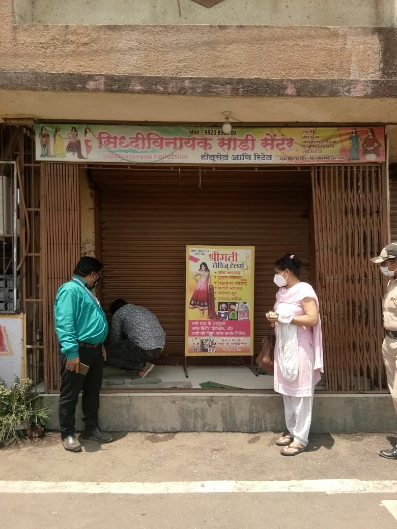 Thane: 28 shops in Kalyan sealed in last two days for flouting COVID-19 norms