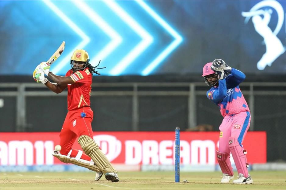 IPL 2021: RR vs PBKS - Big-hitting Gayle becomes first to hit 350 sixes
