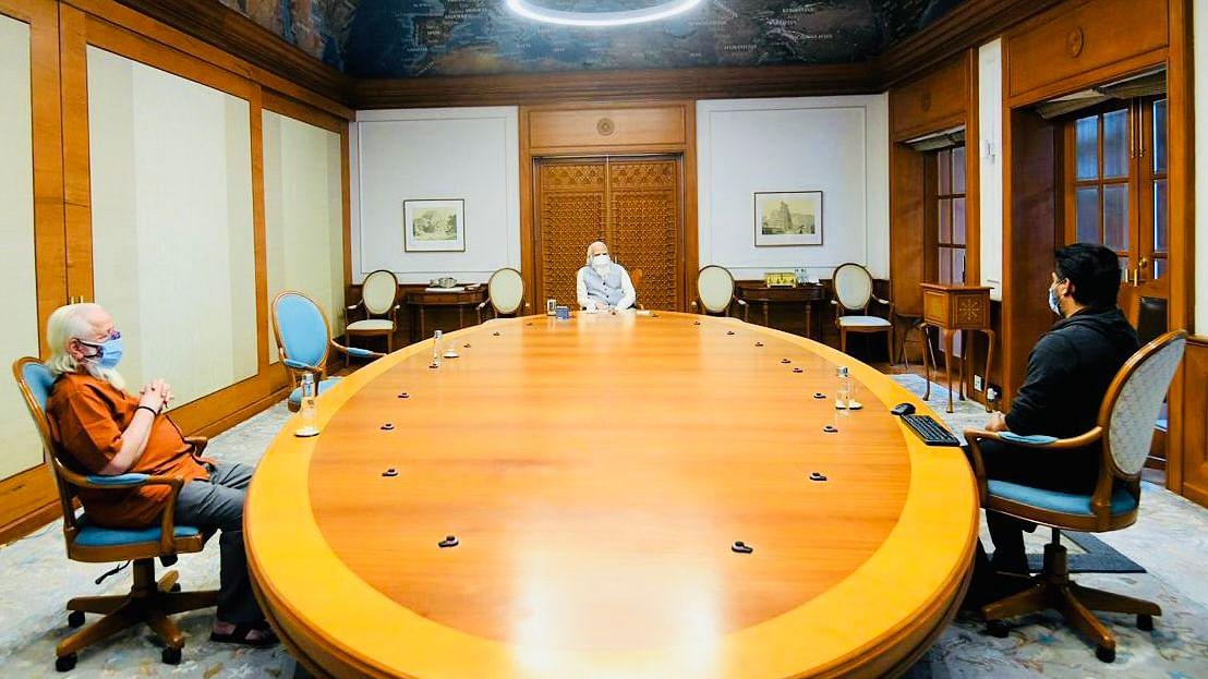 In Pics: When R Madhavan, Nambi Narayanan met PM Modi to discuss 'Rocketry: The Nambi Effect'