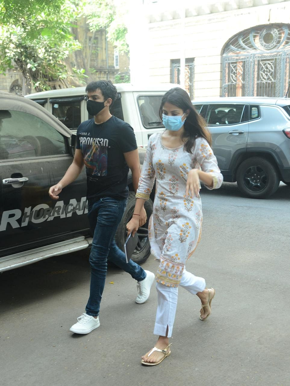 Paparazzi Files: Ranbir Kapoor spotted at clinic in Mumbai; Rhea Chakraborty arrives at NCB office with brother Showik