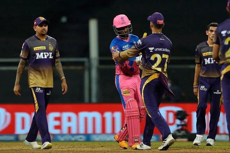 IPL 2021: Check out the points table after Rajasthan Royals vs Kolkata Knight Riders clash