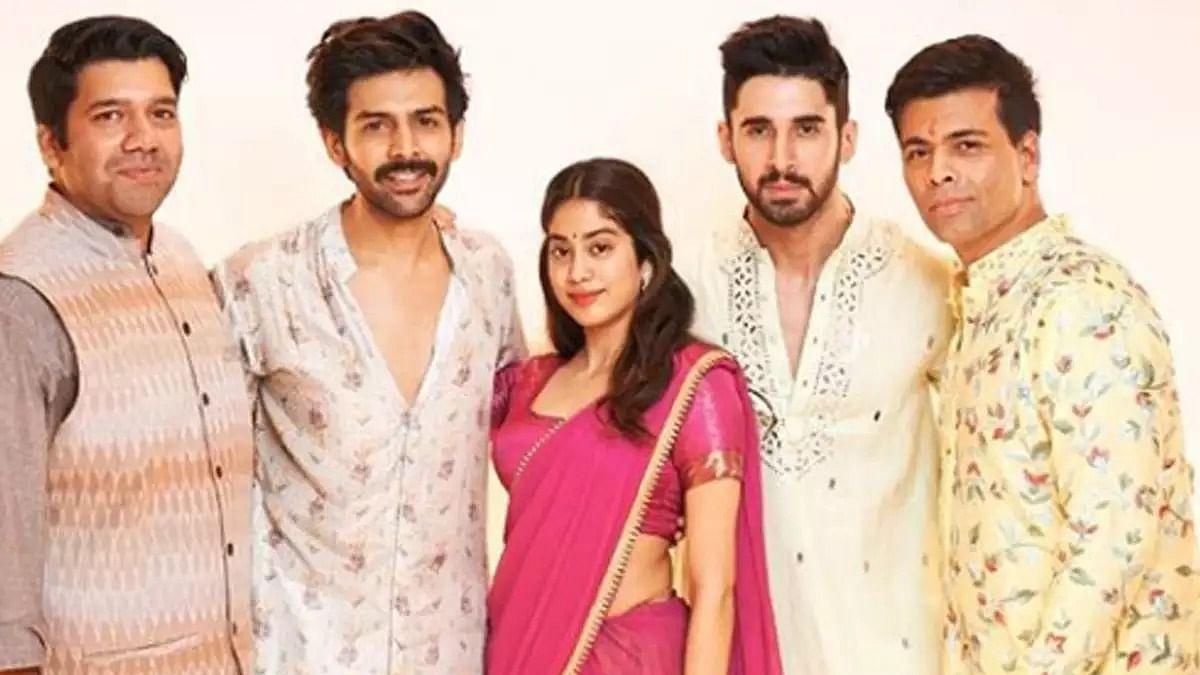 Karan Johar's Dharma productions replaces Kartik Aaryan in 'Dostana 2'; check out official statement
