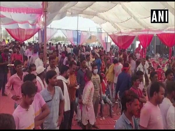 Rang Panchami celebration in Damoh