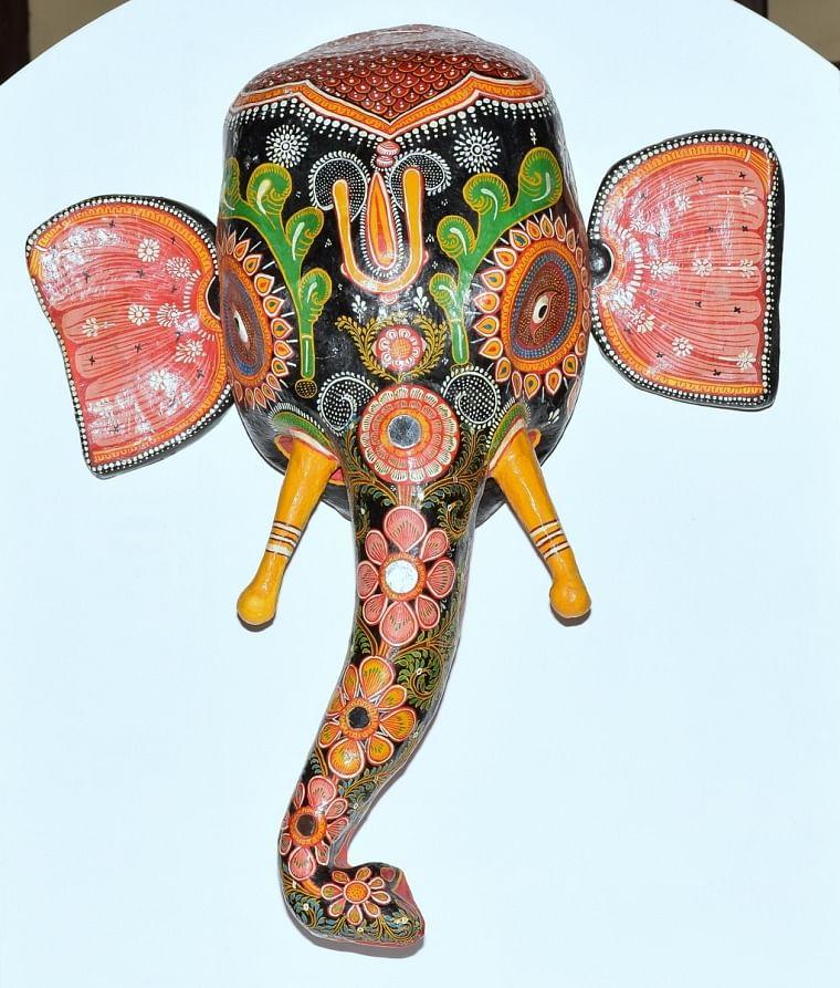 Odisha's elephant mask 'Gajamukha' is  'Exhibit of the Month' at IGRMS