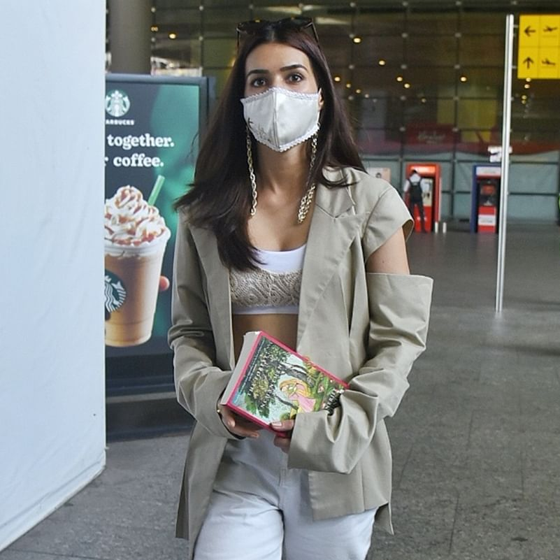 Adipurush: Kriti Sanon reads 'The Forest of Enchantments' as she preps for her role as Sita