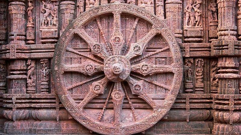 The Wheel from Odisha's Konark temple