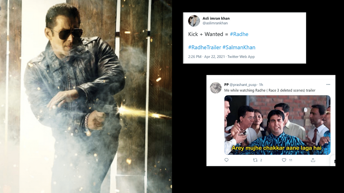 Confused Twitterati troll Radhe trailer with memes; call it 'deleted scenes of Race 3'