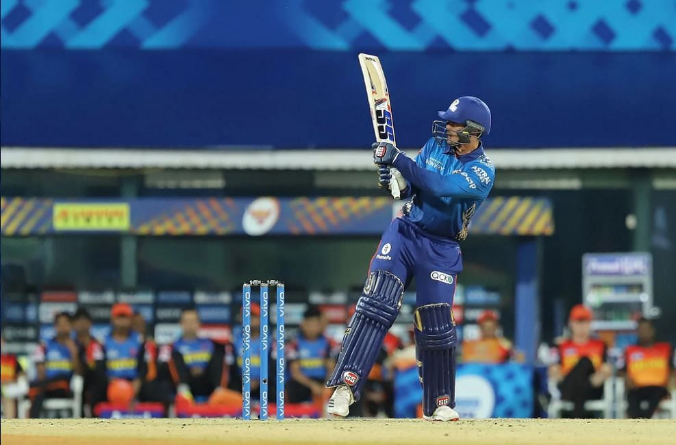 IPL 2021, MI vs SRH Live Score: MI - 89-2 in 11.5 Overs; Shankar leads SRH comeback after Rohit Sharma, de Kock get Mumbai Indians off to a good start