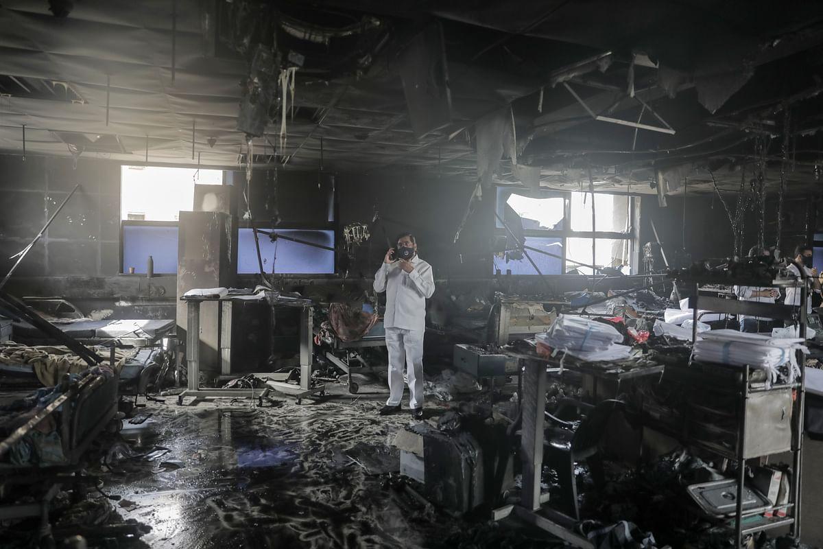Virar hospital fire: 14 COVID-19 patients dead; short circuit in AC unit suspected