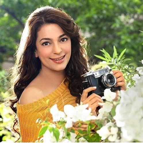 "On April Fool's Day, Juhi Chawla urged fans to ""Plant A Tree"" for Cauvery Calling and make ""April Cool"""