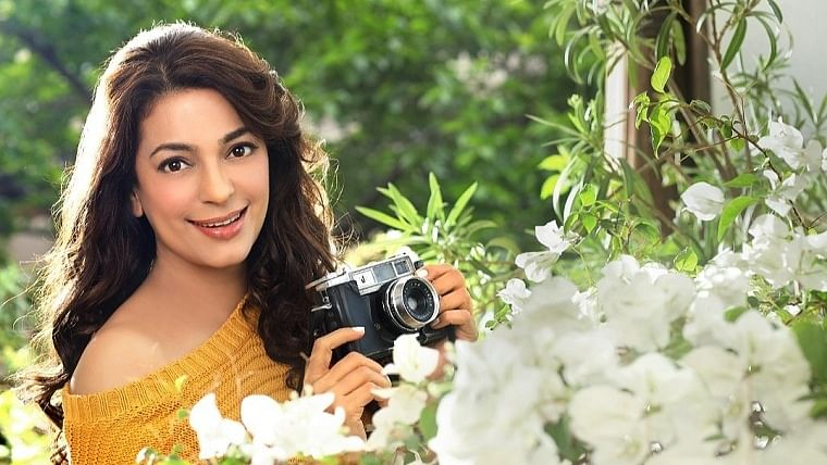 """On April Fool's Day, Juhi Chawla urged fans to """"Plant A Tree"""" for Cauvery Calling and make """"April Cool"""""""