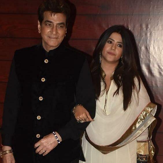 Ekta Kapoor extends birthday wishes to father Jeetendra Kapoor
