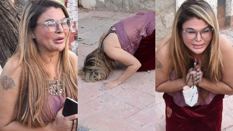 'Salman Bhai apne meri maa ko bachaa liya':  Rakhi Sawant breaks down while talking to paparazzi about mother's cancer treatment