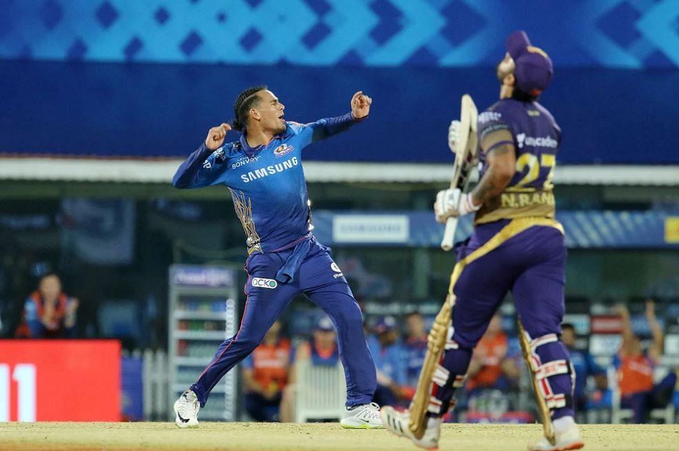IPL 2021: KKR batsmen waste Russell's 5-wicket haul, gift win to MI