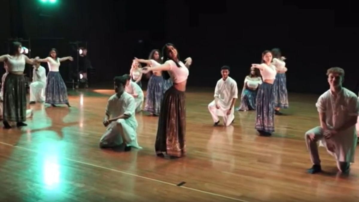 Watch: Nysa Devgan performs on mom Kajol's hit song 'Bole Chudiyan' at a school event in viral video