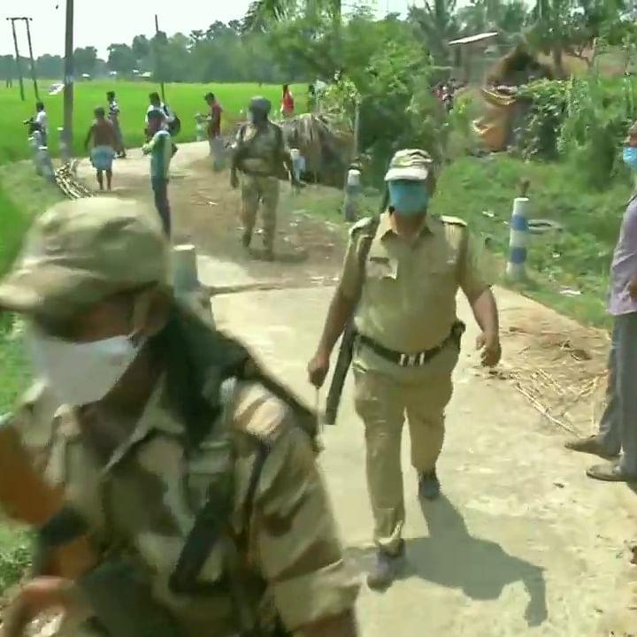 West Bengal polls: Clashes erupt between TMC, BJP in Arambagh