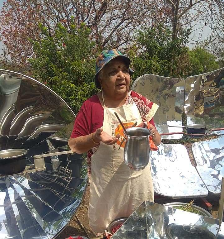 Indore: People share their journey of solar cooking as an environment-friendly option