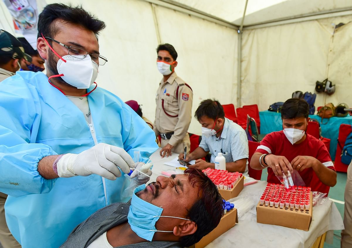 COVID-19: Delhi reports over 3,500 cases; highest single-day spike in 2021