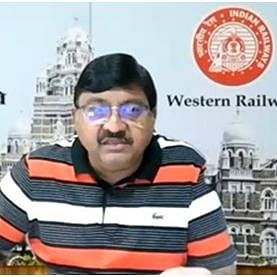 Alok Kansal – General Manager of Western Railway interacts with media representatives on several important issues related to COVID-19