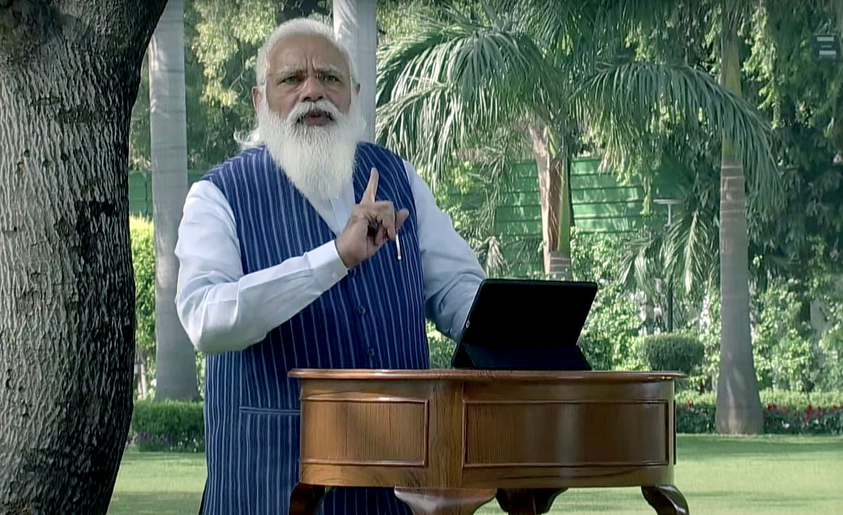 Did PM Modi really advise students to attempt difficult questions first in exams?