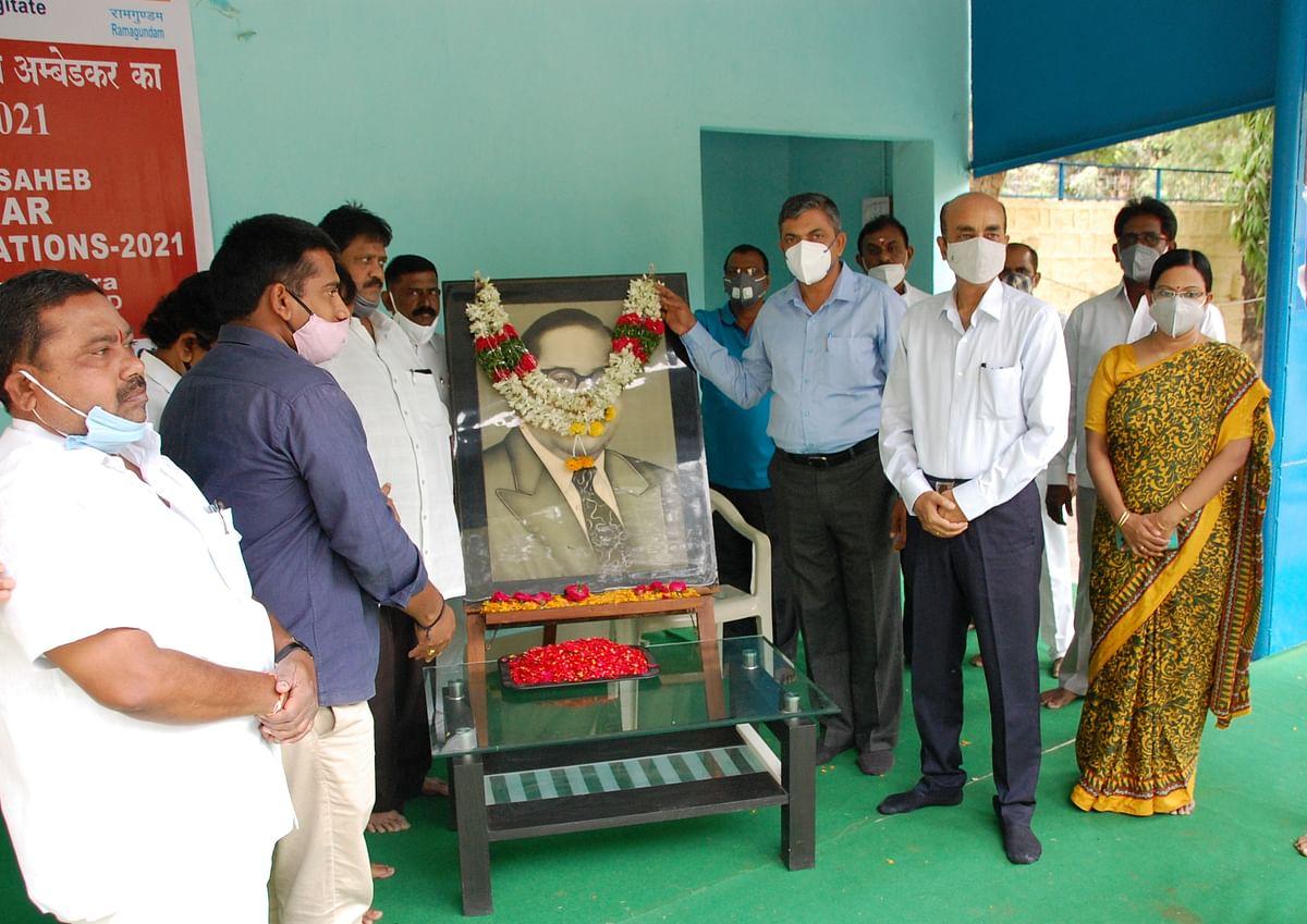 NTPC-Ramagundam observes Ambedkar Jayanti
