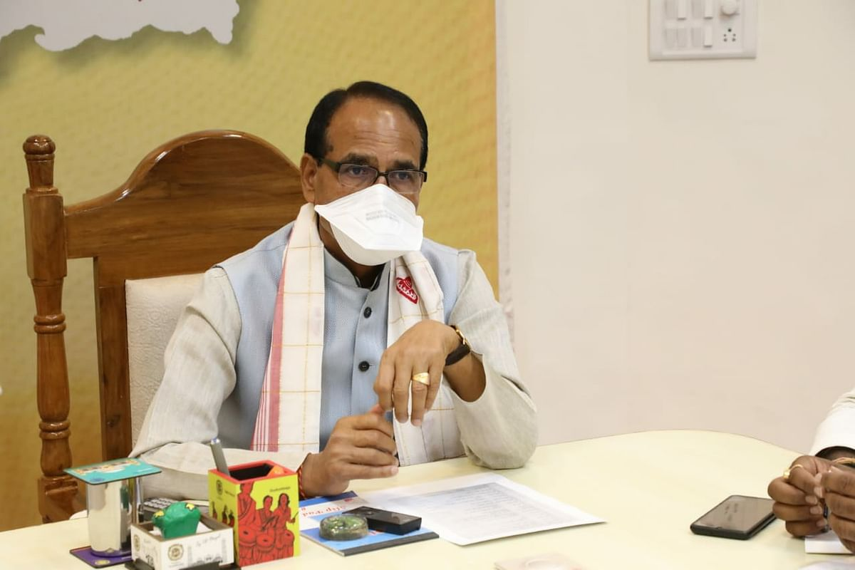 Bhopal: Swing into action to control corona, chief minister tells ministers, allocates districts