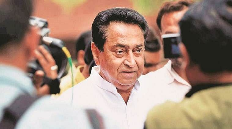 Former Madhya Pradesh chief minister Kamal Nath