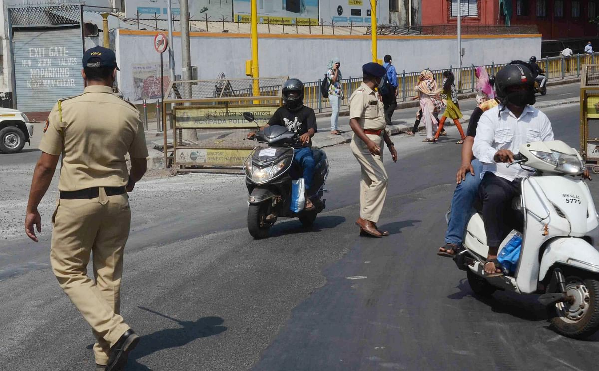 COVID-19: Mumbai police books 495 persons for lockdown violations, 98 vehicles impounded