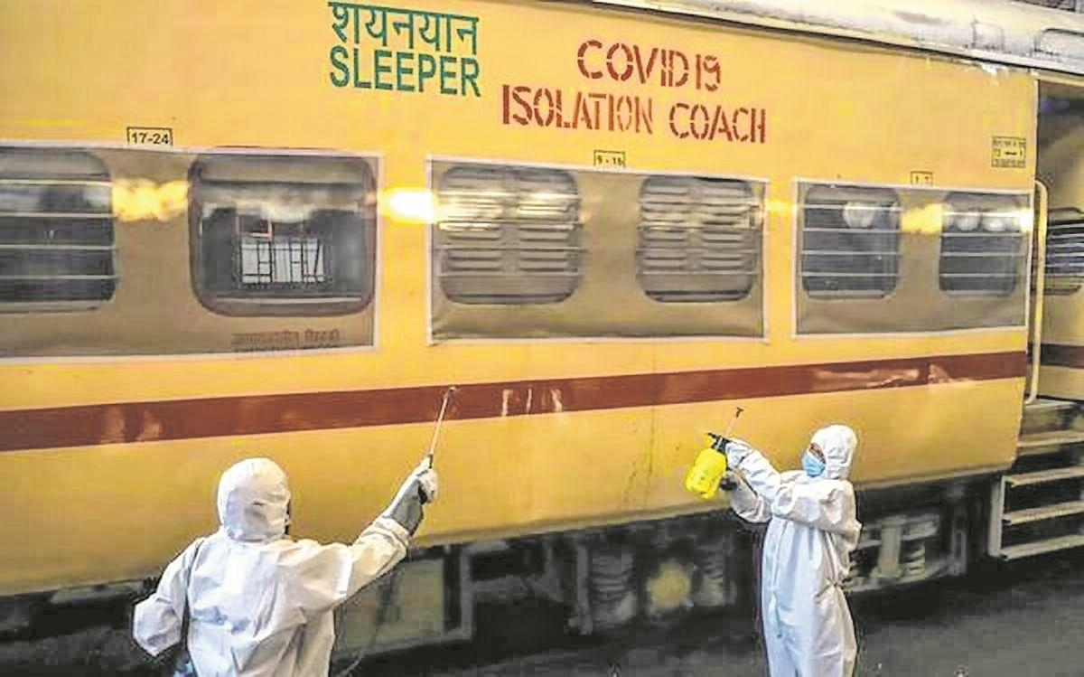 Railways to give 100 Covid coaches to Maharashtra govt