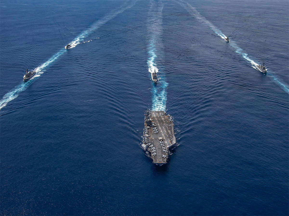 India 'concerned' after US Navy announces its freedom of navigation operation in Indian EEZ without consent