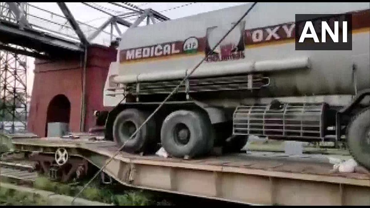 COVID-19 in UP: Oxygen Express with 30,000 litres of medical oxygen arrives in Lucknow to save lives