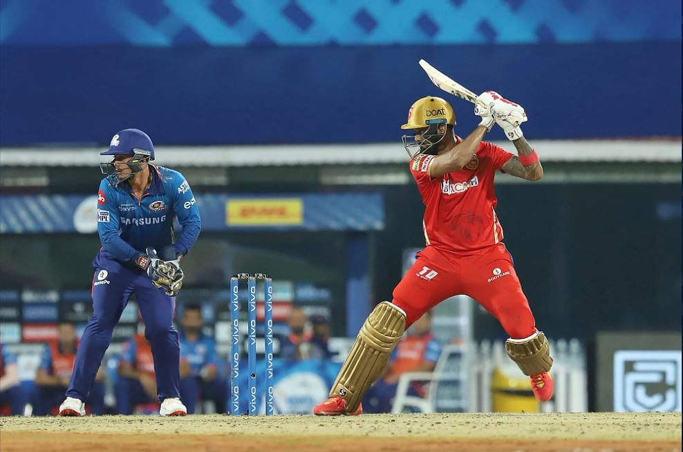 MI vs PBKS IPL Live Score: PBKS 108-1 in 16 Overs; KL Rahul and Chris Gayle build partnership after Chahar and Jayant Yadav pull things back for Mumbai Indians; Rohit Sharma's 63 takes MI to 131-6