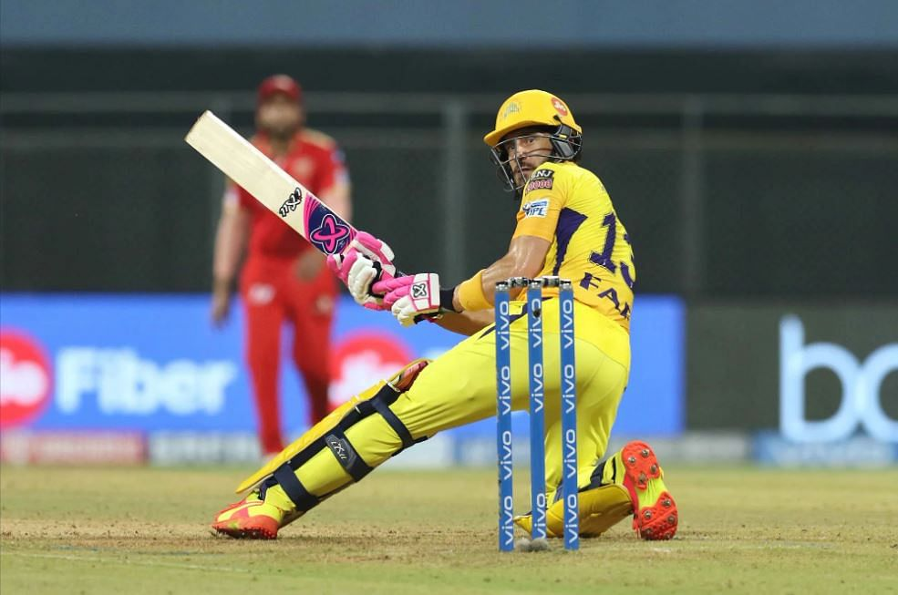 IPL 2021, CSK vs PBKS Live Score: CSK - 97-2 in 13.4 Overs; Moeen Ali and du Plessis partnership takes CSK closer to win after Chahar's 4/13 restricts Punjab to 106-8