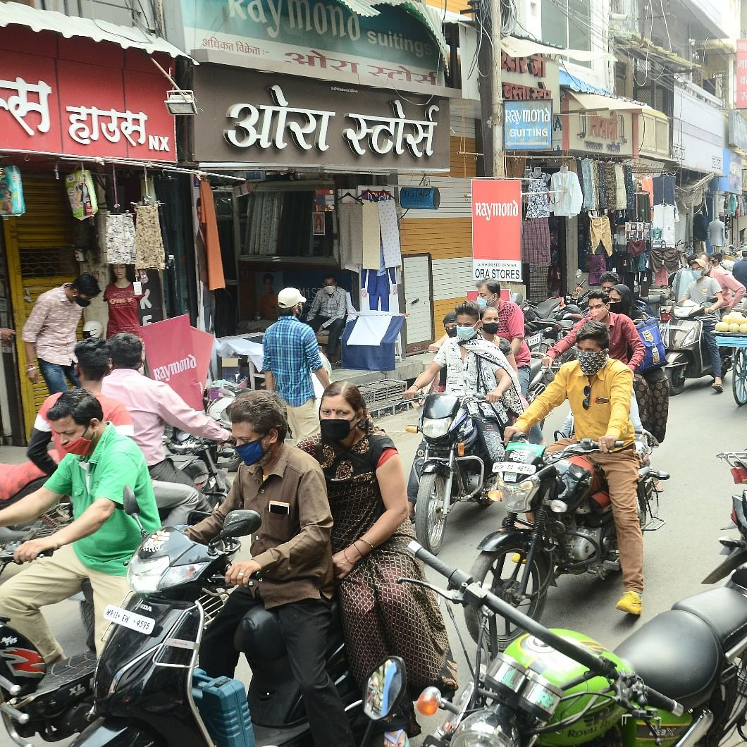 Ujjain: Corona curfew; confusion over relaxations leads to chaos in markets