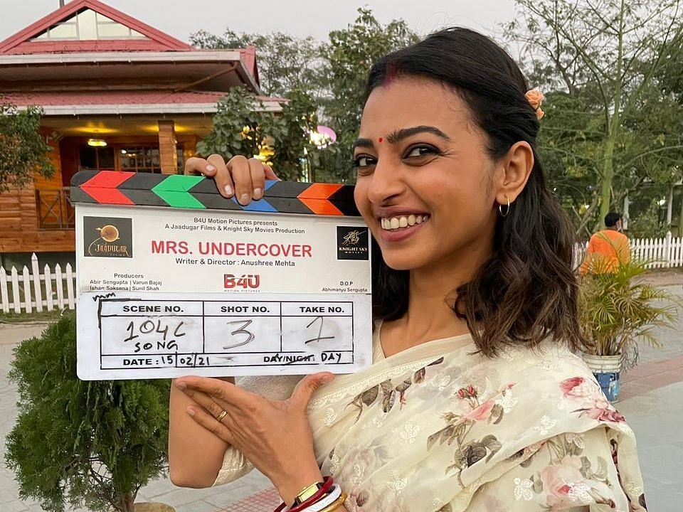 Radhika Apte shot at a stretch of 35 days in Kolkata for her upcoming film, 'Mrs Undercover'