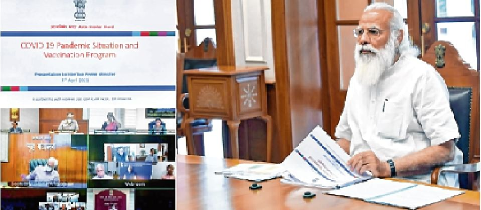 PM meet reviews Covid situation