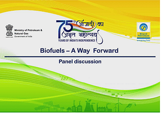 BPCL conducts a webinar on Biofuels – A Way Forward to commemorate the 75th Anniversary of India's Independence in Aug. 2022