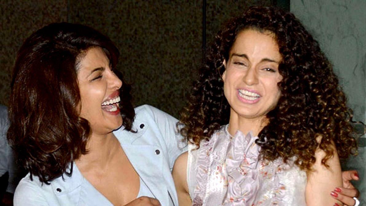 'Why gang up on me?': Kangana shares an old video of her praising Deepika, Alia, Priyanka, and other female celebs