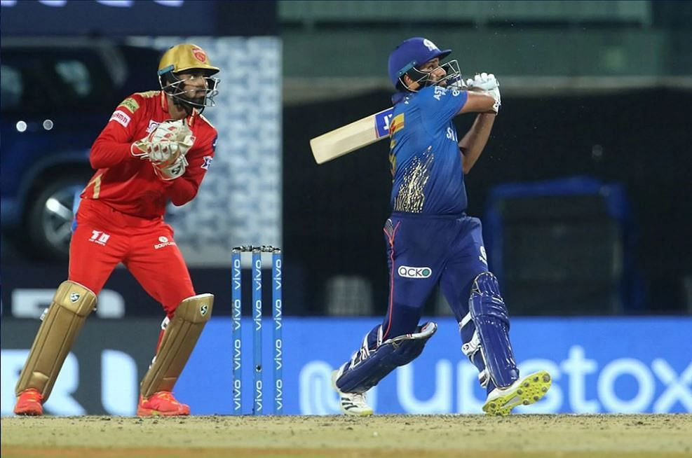 MI vs PBKS IPL Live Score: MI 131-6 in 20 Overs; Rohit Sharma's 63 takes Mumbai Indians to 131-6 in 20 Overs