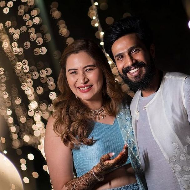 Inside pictures of Jwala Gutta and Vishnu Vishal's pre-wedding festivities