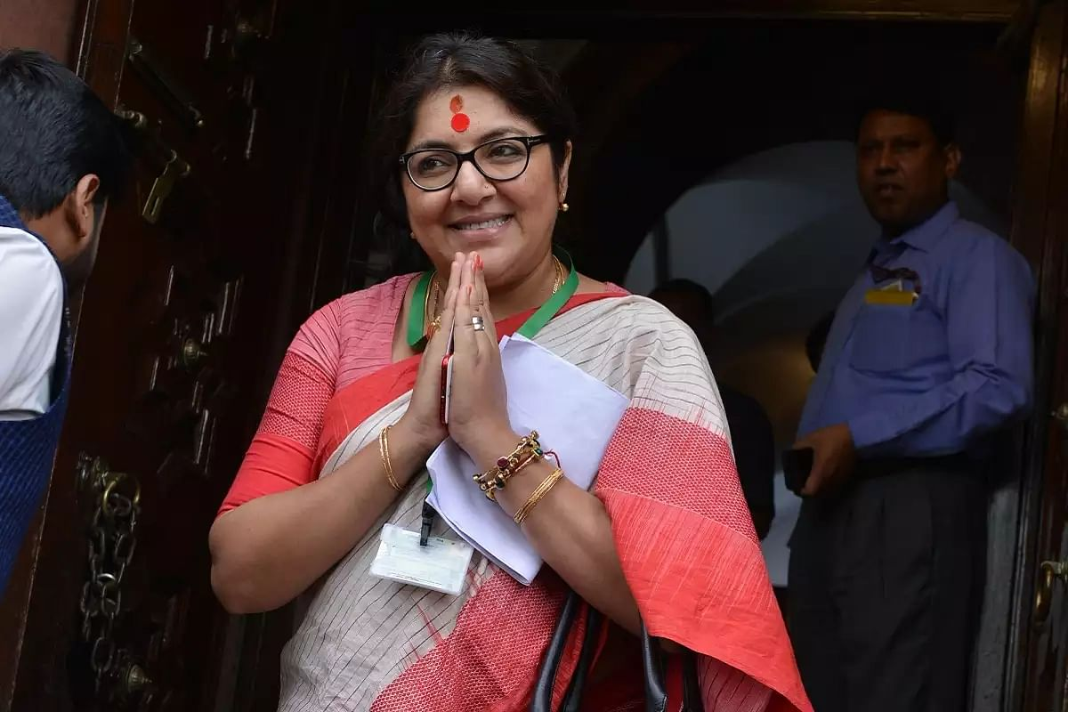 'Locket Chatterjee is the necklace of...': Mamata Banerjee alleges BJP leader's role in Saradha scam, saffron party says 'free to prove claims'