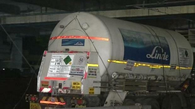 Uttar Pradesh: Another Oxygen Express with 80,000 litres O2 arrives in Lucknow