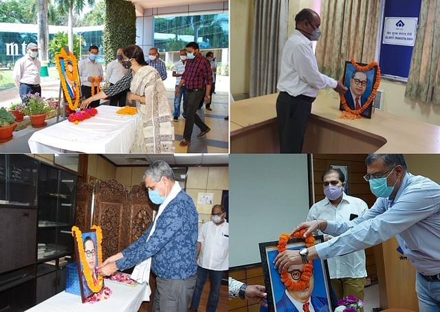 SAIL Ranchi celebrates Ambedkar Jayanti adhering to COVID protocols