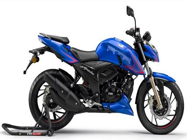 TVS Motor sold 21.6 lakh units of two-wheelers in the domestic market in FY21, as compared to 24.1 lakh units in 2019-20